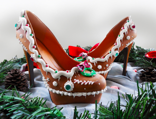 gingerbread high heels