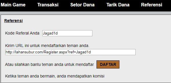 Cara Mendaftarkan Teman Dengan Link Referral
