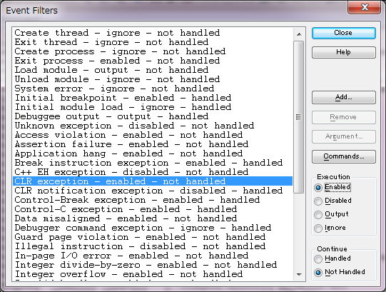 DD開発ROOM: アプリ起動時のCLR exception(0xe0434352)をWinDbg