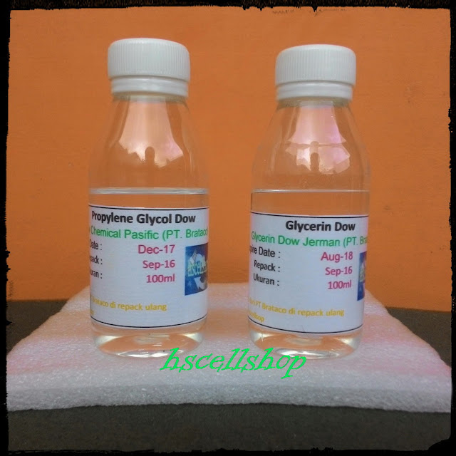 PG Propylene Glycol VG Vegetable Glycerin DOW JERMAN