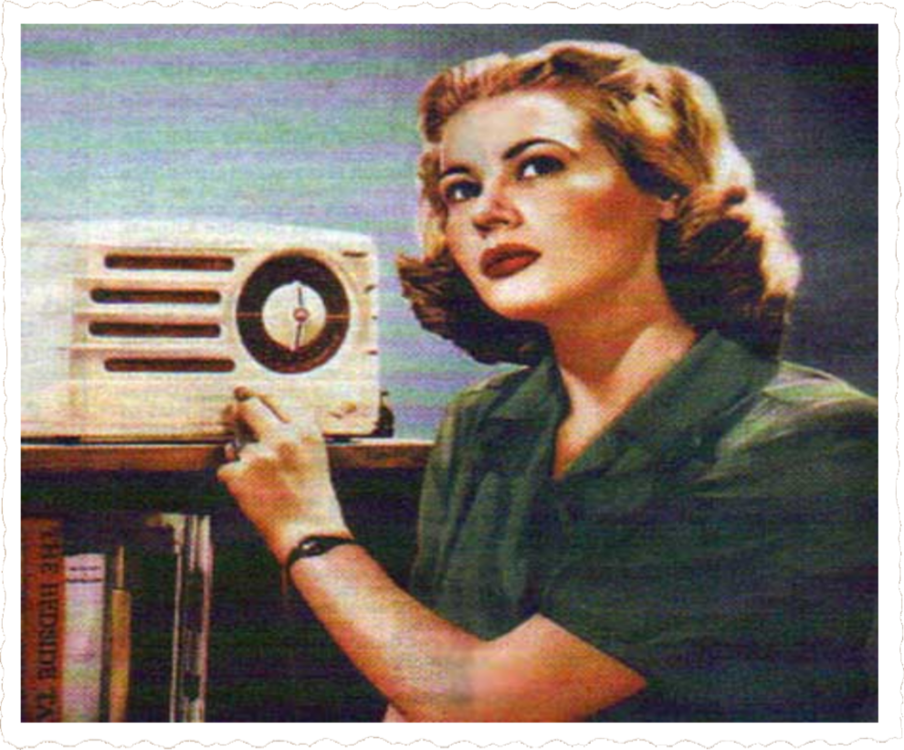 Old Time Radio Station 1920s 1930s 1940s - The UK Radio 1940s ~ Thế
