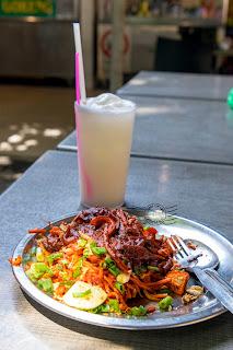 Food Trail at Esplanade, Padang Kota Lama, Penang