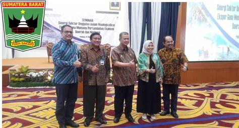 Wakil Gubernur Sumatera Barat Nasrul Abit: Peningkatan Eksport Sumatera Barat Perlu Disinergikan Dengan Harga Yang Saat Ini