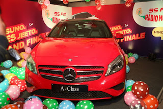 Raashi Khanna at Mirchi 95 Suno Mercedes Jeeto Contest Stills  0005.jpg