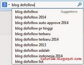 Daftar Blog Auto Approve Pagerank Tinggi Dofollow Pemerintah - Google Search - Hasil Penelurusan Blog Dofollow