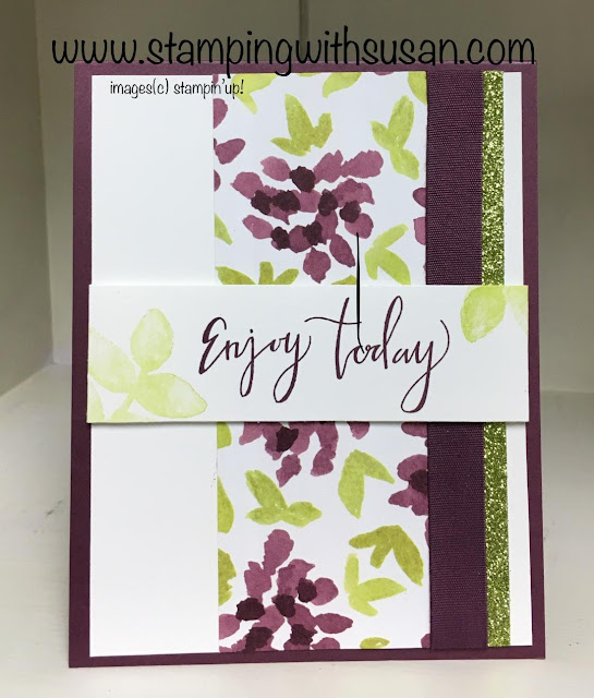 Stampin' Up! Oh So Eclectic, Eclectic Layers Thinlits, Everyday Card