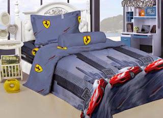Sprei Kintakun Luxury Kids Ferrari