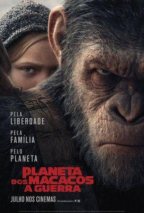 Planeta dos Macacos A Guerra (2017) Dublado