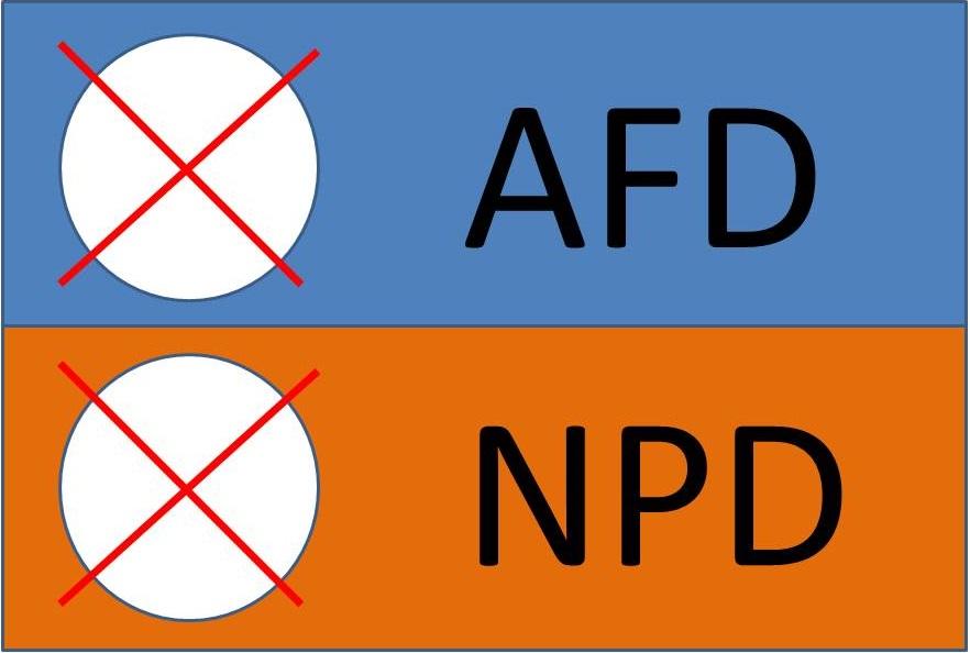 Wie AFD- und NPD-Wähler auf keinen Fall abstimmen sollten! | Nopegida