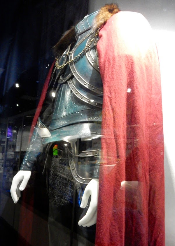 Hollywood Movie Costumes And Props Luke Evans Film Costume From Dracula Untold On Display
