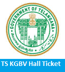 TS KGBV Hall Ticket