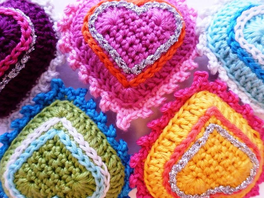 Tutorial Corazón de Crochet
