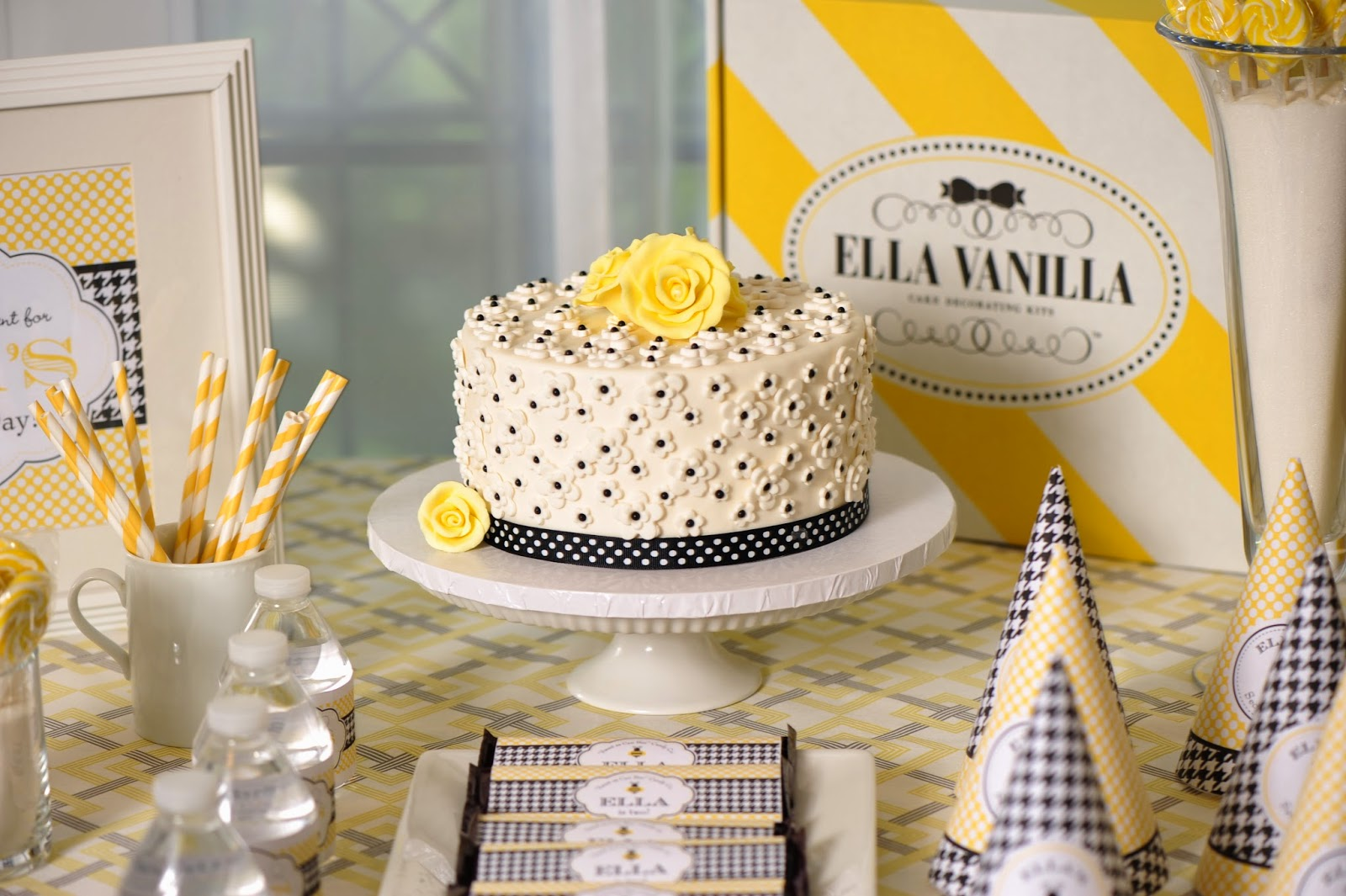 DIY Fondant Cake Decorating Kits By Ella Vanilla