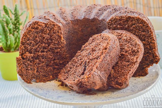 Zucchini Carob Cake