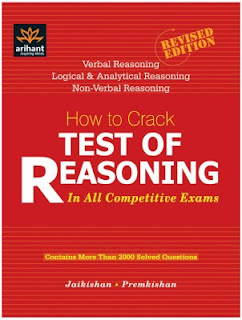 REASONING BOOK PDF FOR SSC