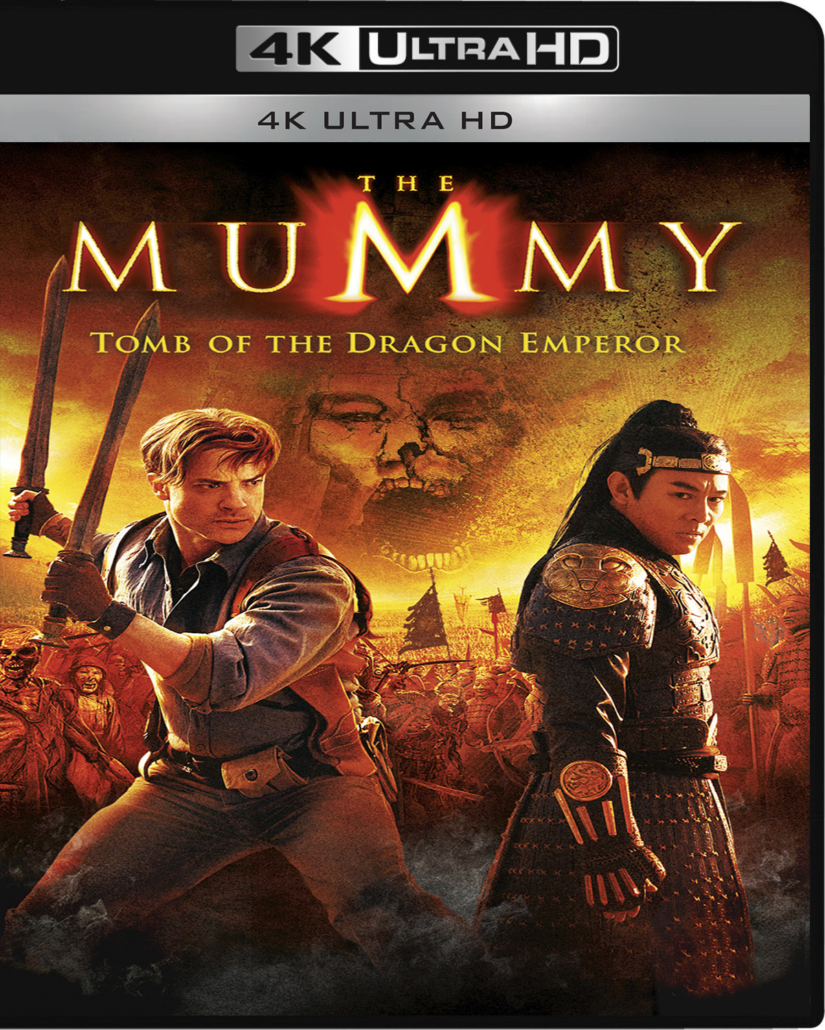 The Mummy: Tomb of the Dragon Emperor [2008] [UHD] [2160p] [Latino]