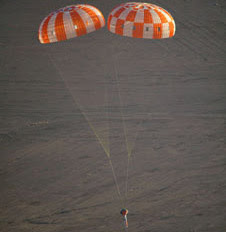 Orion Parachute Testing for Orbital Test Flight