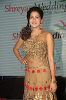 Jenny in brown transparent sleeveless anarkali dress at Shamanthakamani pre release function ~  Exclusive 020.JPG