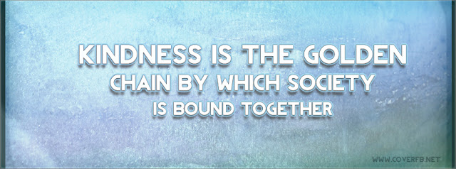 Kindness Facebook Cover Timeline photo