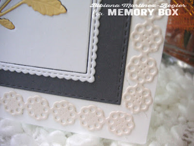inlay flowers detail frames