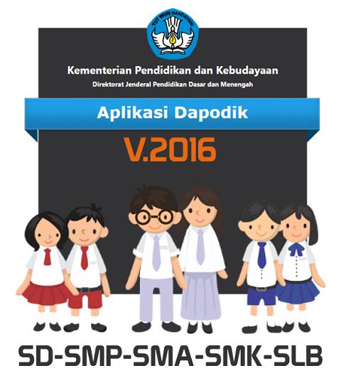 Panduan Singkat Persiapan Rilis Aplikasi Dapodik Versi 2016 SD, SMP, SMA, SMK dan SLB