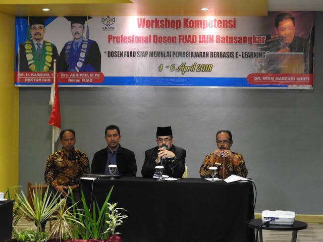 Workshop Kompetensi Profesional Dosen FUAD