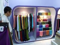 Produksi Mebel Furniture Interior Toko Pakaian Hijab Kerudung Gamis di Semarang