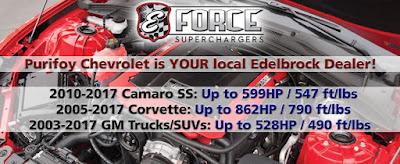 Purifoy Chevrolet Edelbrock Superchargers