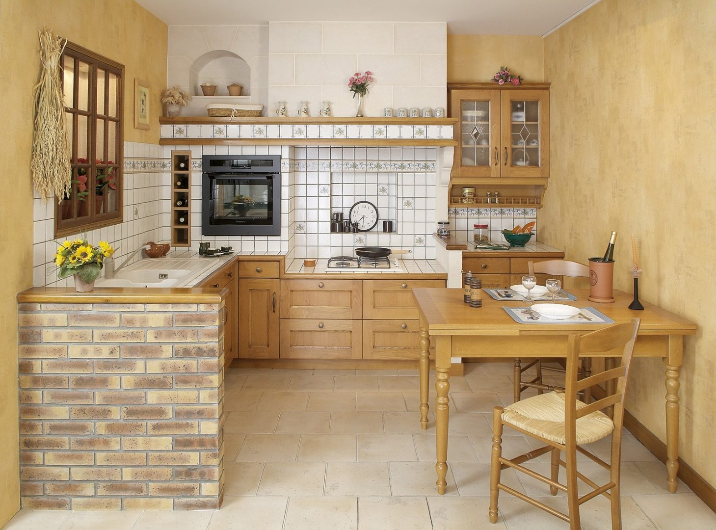 Fotografías que me gustan: Fotografías de cocinas rústicas