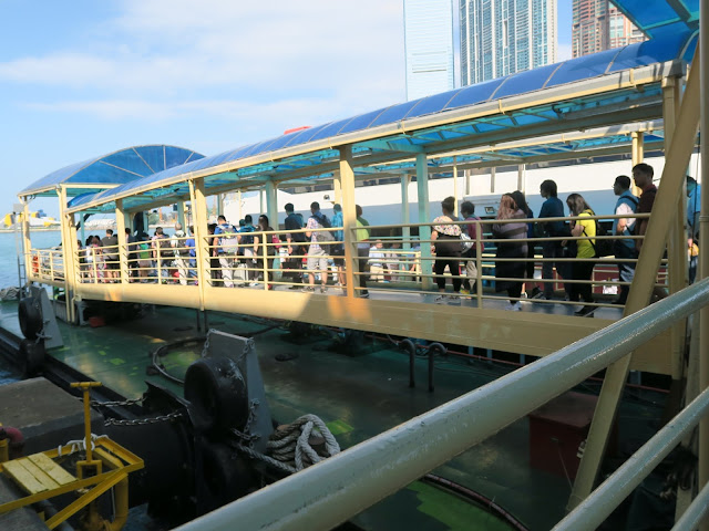 Ferry Terminal to Macau