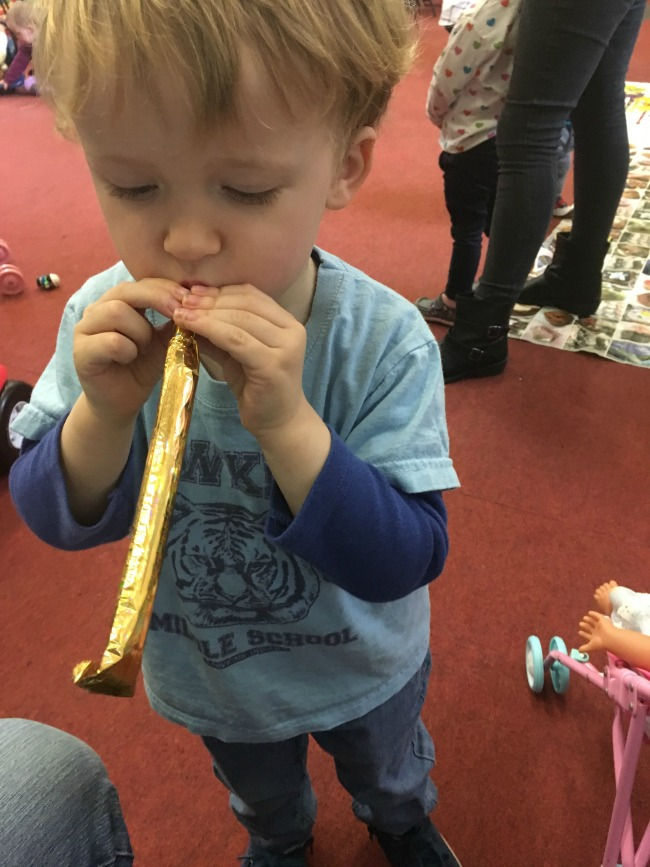 Traffic-Jams-and-Trumpets-toddler-with-trumpet