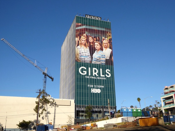 Giant Girls final season billboard