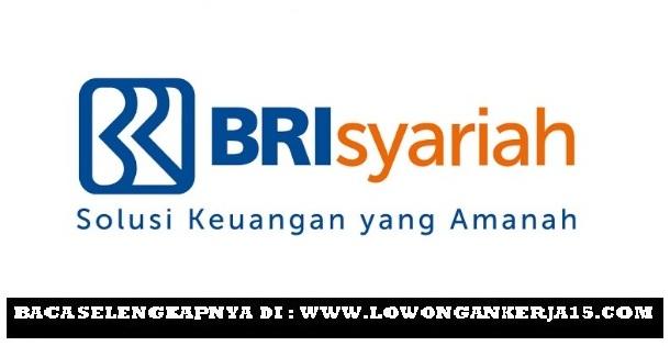 Lowongan Kerja Terbaru Frontliner Bank BRISyariah