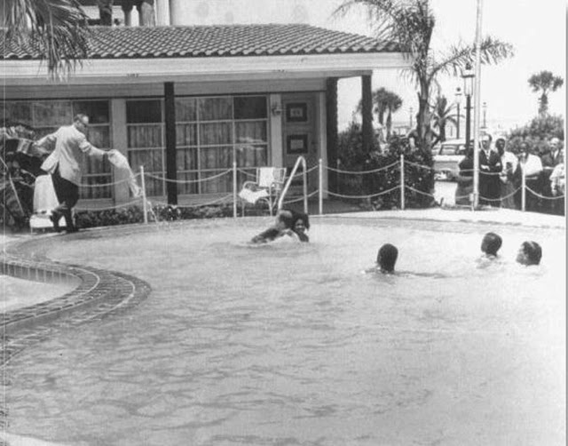 A photo series captured a motel manager pouring acid into - How to use muriatic acid in swimming pools ...
