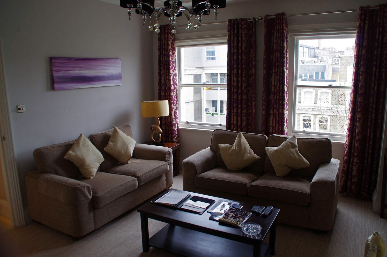 Beaufort House Knightsbridge Apartment Lounge