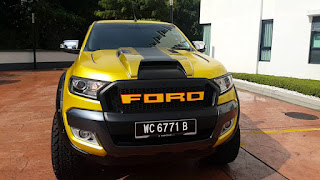 Ford Ranger 4 ประตูแต่งสวย