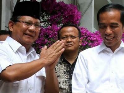 Akankah Terwujud? Duet Jokowi-Prabowo di Pilpres 2019?