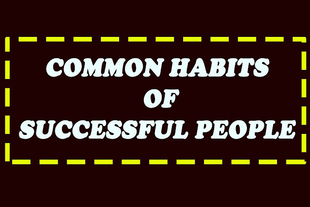 GOLDEN 7+  HABITS  OF SUCCESSFUL PEOPLE