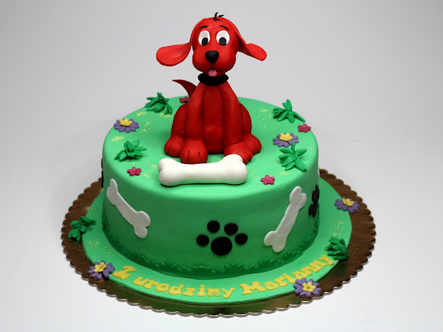 Clifford the Big Red Dog Cake