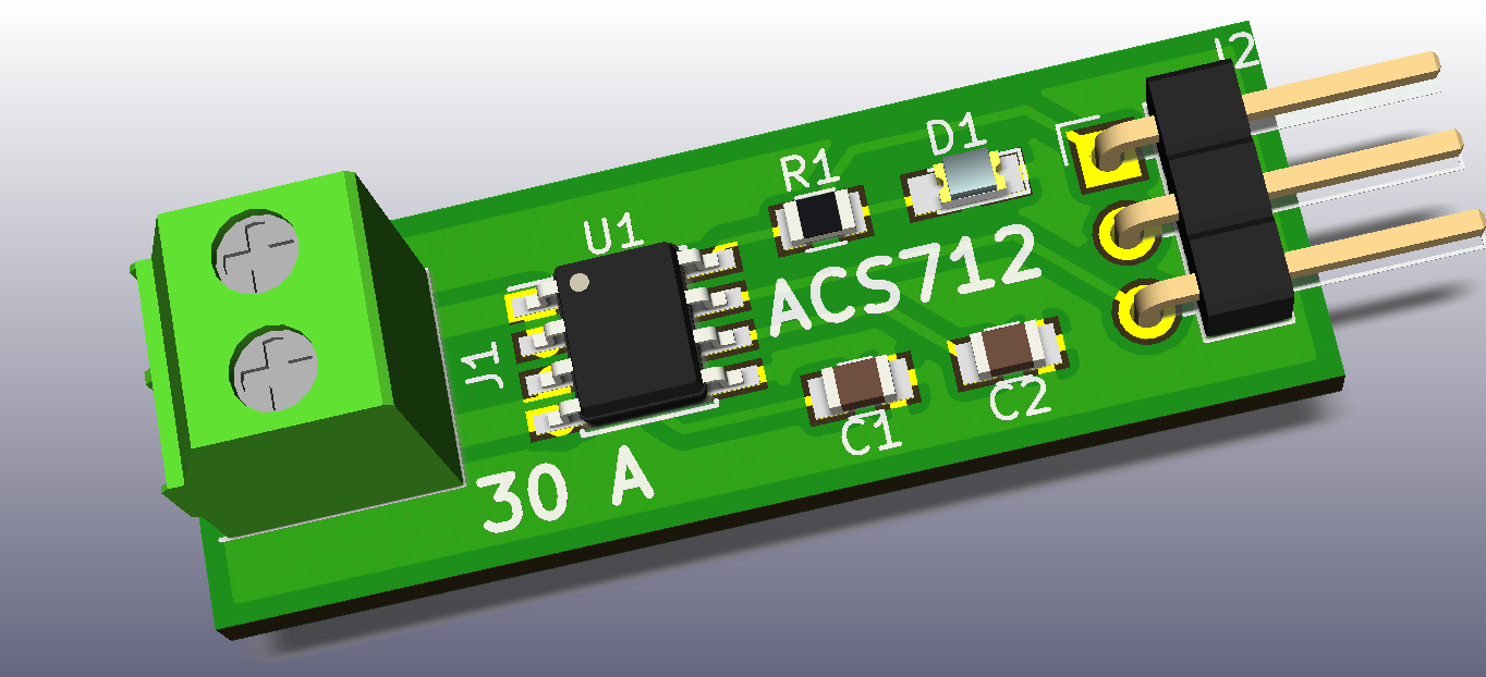 ACS712 Current Sensor 30 Amps | Boaz Codes Bin