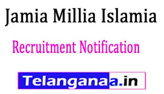 Jamia Millia Islamia Recruitment Notification 2017