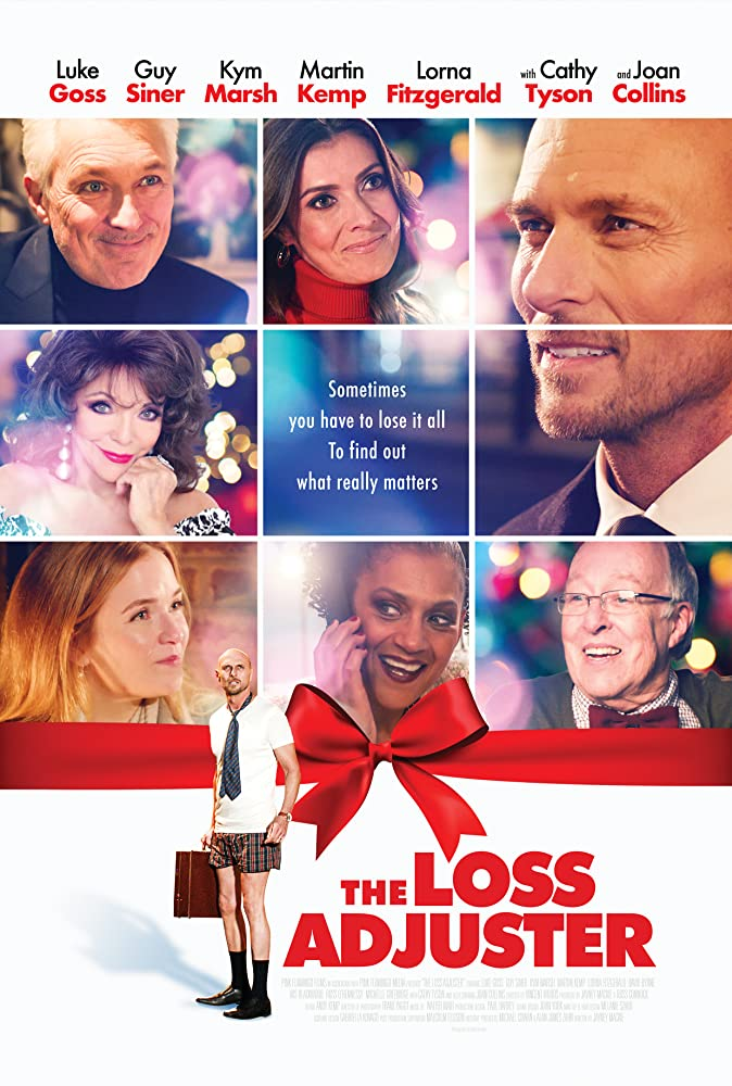 PRE-ORDER THE LOSS ADJUSTER STARRING LUKE GOSS & JOAN COLLINS HERE!