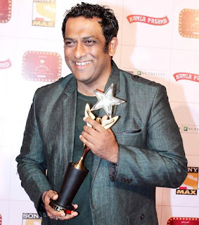 Anurag Basu with 'Best Director' Award