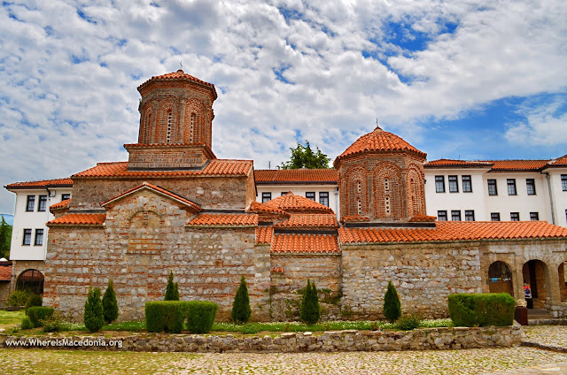 St. Naum (Свети Наум) Monastery on Ohrid Lake, Macedonia