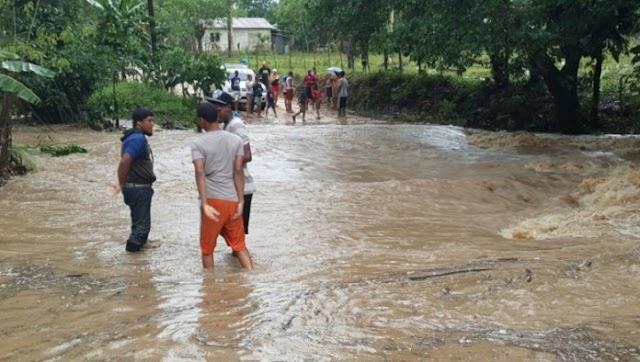 2,440 desplazados y 18 provincias en alerta por lluvias, incluyendo San Juan