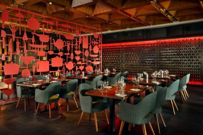 nhà hàng quán ăn thiết kế độc 5