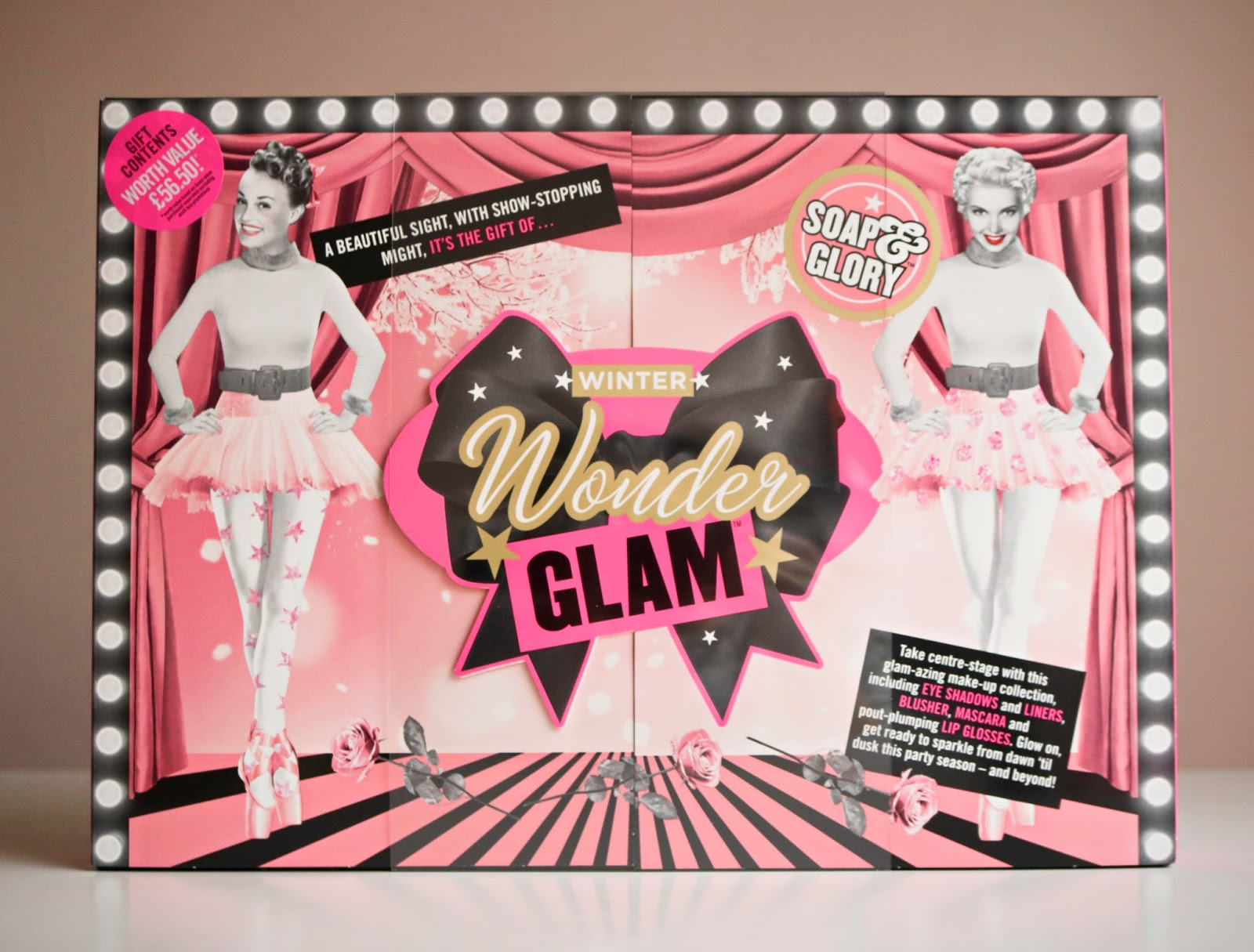 the stunning winter wonder glam gift set by soap glory is available from boots now at an incredible jaw dropping price