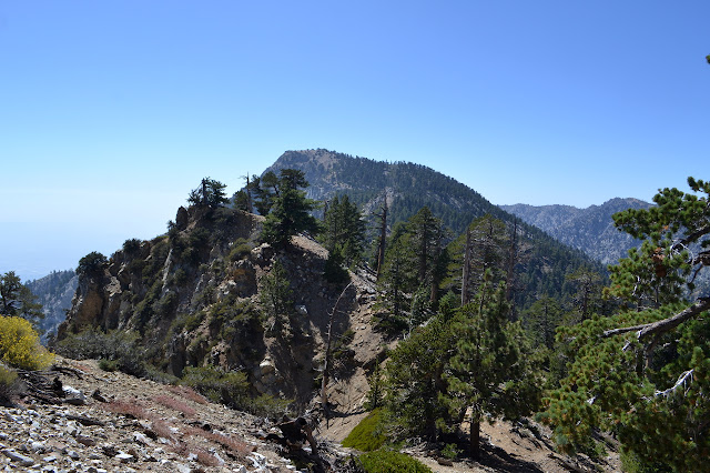 small peak and Cucamonga