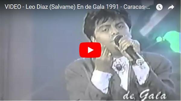 Leo Díaz y su banda en la Venezuela del pasado