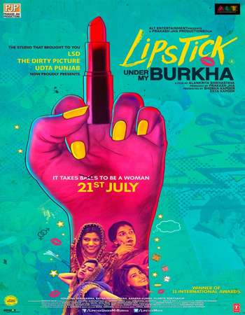 Lipstick Under My Burkha 2016 Hindi 550MB BluRay 720p ESubs HEVC